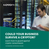 Learn about Ransomware with free offers from KnowBe4 and Kaspersky Image